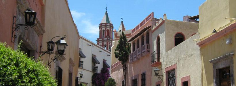 MEXICO: CIUDADES COLONIALES